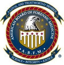 Dr. Sawyer is a Diplomate of the American Board of Forensic Medicine