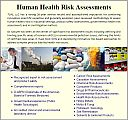Human Health Risk Assessments